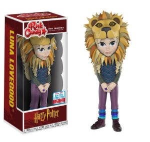 Funko Rock Candy Harry Potter Luna Lovegood(Lion Hat) - NYCC 2017