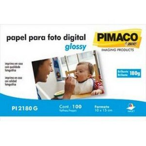 PAPEL PHOTO 10X15 BRILHO PIMACO(PI2180G)