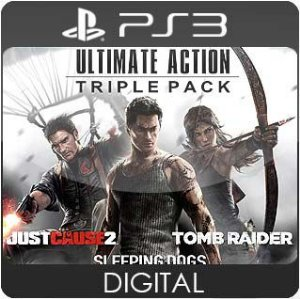 Ultimate Action Triple Pack PS3 Mídia Digital