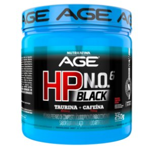 HP NO6 Black AGE 250g Nutrilatina Soda