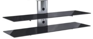 Rack Airon Simply 135/2 C BLACK GLASS BLACK