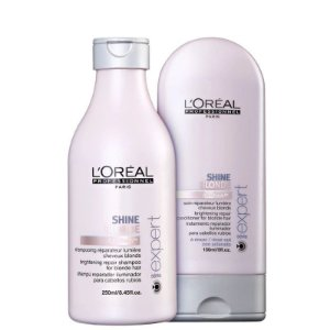 Kit Shine Blonde L'Oréal Professionnel Duo(2 Produtos)