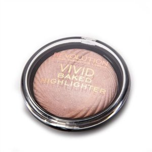 Iluminador Vivid Baked Highlighter Makeup Revolution - Peach Lights