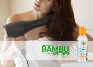 Leave In Nutritive Silicon Mix Bambu 236ml