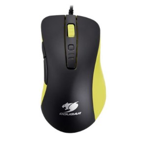 Mouse Gamer Cougar 300M - Yellow 4000 DPI
