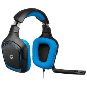 Fone Logitech G430 Headset USB 7.1 Surround