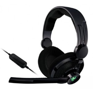 Fone Razer Carcharias 2013 XBOX 360 e PC Headset - OPEN BOX - OUTLET