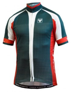 CAMISA CICLISMO MASCULINA - SQUARE - FREE FORCE