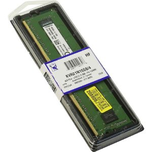 Kingston Value 4GB 288-Pin DDR4 CL15 2133MHZ (PC4 17000) (KVR21N15S8/4)