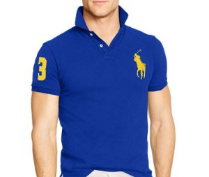Camiseta Polo Luxo Masculina - Ralph Lauren Big Poney