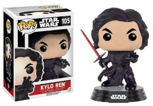 Star Wars Kylo Ren Unmasked Pop - Funko