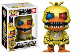 Five Nights At Freddy's Nightmare Chica Pop - Funko