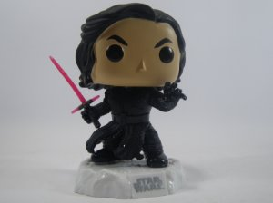 Loose Star Wars Kylo Ren Unmasked Pop - Funko