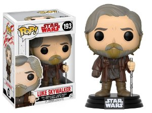 Star Wars Last Jedi Luke Skywalker Pop - Funko
