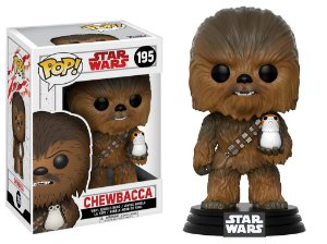 Star Wars Last Jedi Chewbacca Pop - Funko