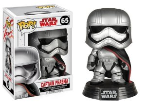 ***EM OUTUBRO*** Star Wars Last Jedi Captain Phasma Pop - Funko