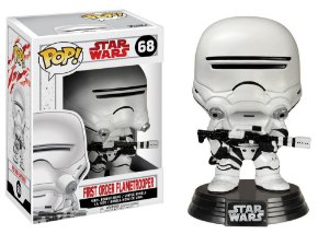 ***EM OUTUBRO*** Star Wars Last Jedi First Order Flametrooper Pop - Funko