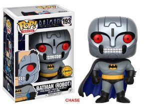 Batman The Animated Series Batman Robot Chase Limited Edition Pop - Funko