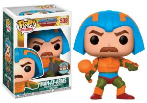 Masters of the Universe Man-at-Arms Mentor Specialty Series Pop - Funko