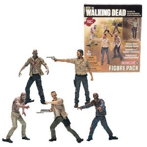 The Walking Dead Building Sets Figure Pack c/5 - McFarlane