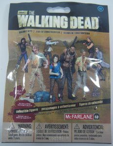The Walking Dead Building Sets Blind Bag Zumbi - McFarlane