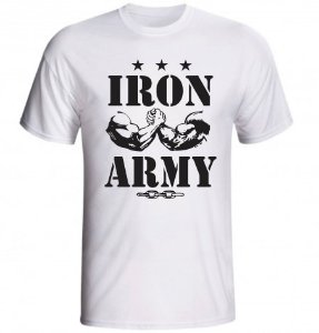 Camiseta Iron Army