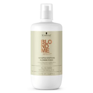 Schwarzkopf Blondme All Blondes Keratin Restore Máscara de Tratamento 750ml