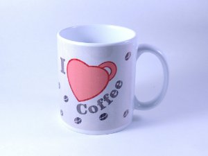 Caneca I Love Coffee