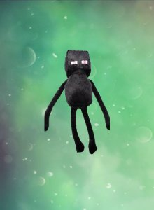 Pelúcia Minecraft: Enderman