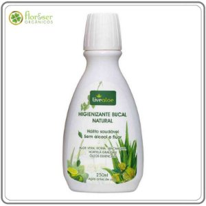 Higienizante Bucal Natural Live Aloe