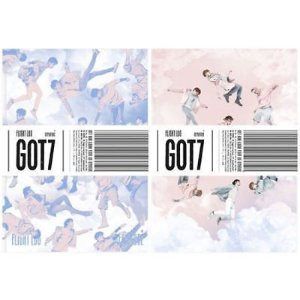 GOT7 - FLIGHT LOGDEPARTURE [2016] (5th Mini Album CD) +Photobook +Card