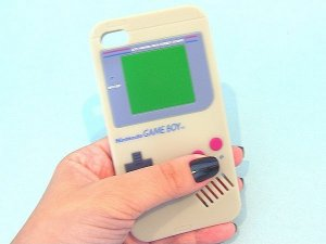 Case Gameboy para iPhone 4 (silicone)