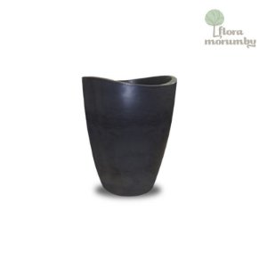 VASO COPACABANA 30X40CM ANTIQUE PRETO