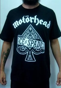 Camiseta Motorhead - Ace of Spades