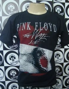 Camiseta Pink Floyd - The Wall Live