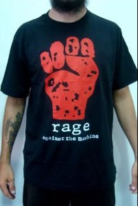 Camiseta Rage Against The Machine