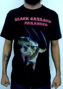 Camiseta Black Sabbath - Paranoid
