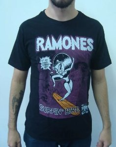 Camiseta Ramones - Surfin Bird