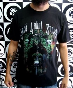 Camiseta Black Label Society - Unblackened