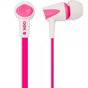 Fone de Ouvido Intra Auricular Newex Colorhit Rosa - FN-203