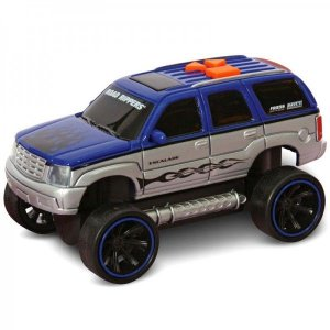 Carrinho Road Rippers - It Comes Back - Cadillac Escalade - Azul - DTC