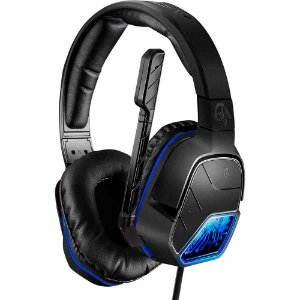 Headset estéreo com fio AfterGlow LVL 5 para Playstation 4 (PS4) - PDP
