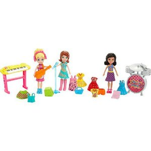 Polly Pocket Festa Rock - Mattel