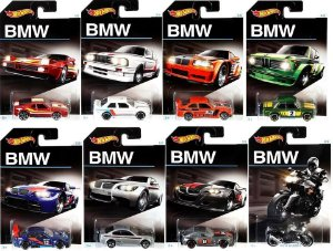 Kit BMW 8 Carros 1:64 Hot Wheels - Mattel