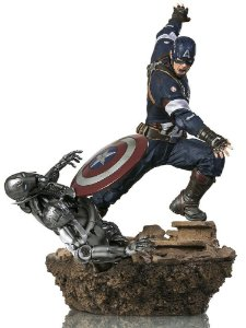 Captain America Avengers Age of Ultron 1/6 Diorama Iron Studios
