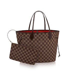 Bolsa Louis Vuitton Neverfull Damier Ebene