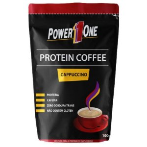 Café proteico tipo Cappuccino Power One 100g