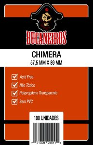 Sleeve Chimera 57,5x89 mm - Bucaneiros