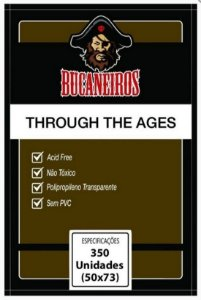Sleeves Bucaneiros Through The Ages (50x73mm)