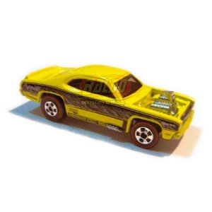 Hot Wheels - Plymouth Duster - Since 02 - 2007 - Amarelo - Sem cartela (loose)